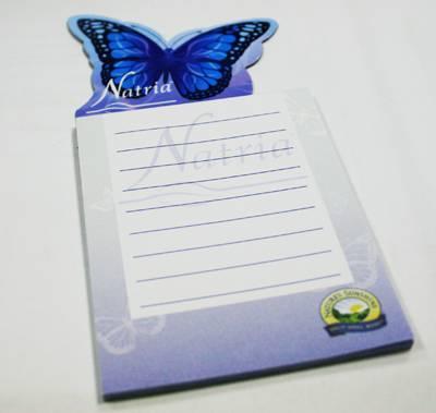 Магнит-блокнот с логотипом Natria