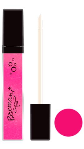 BREMANI - блеск для губ. Розовая жемчужина