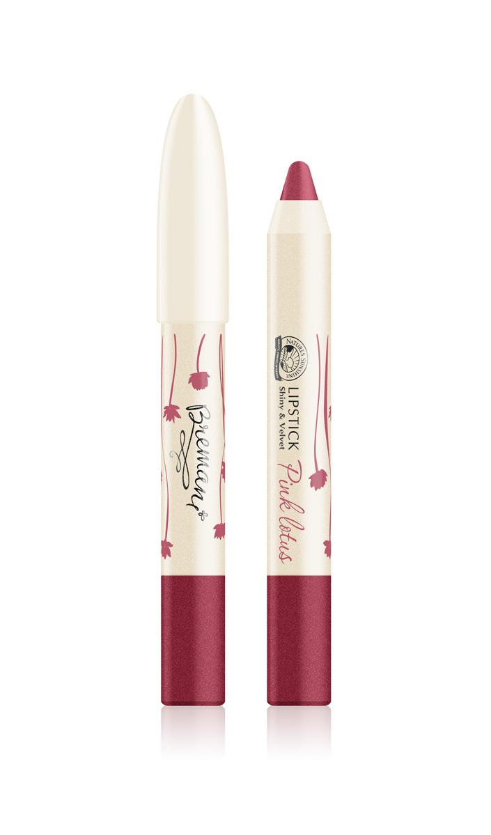 Помада блеск и бархат Lipstick shiny&velvet Pink lotus
