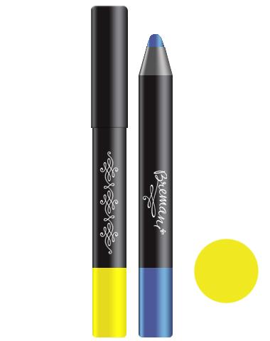 Устойчивые тени - карандаш для глаз. Солнечный желтый