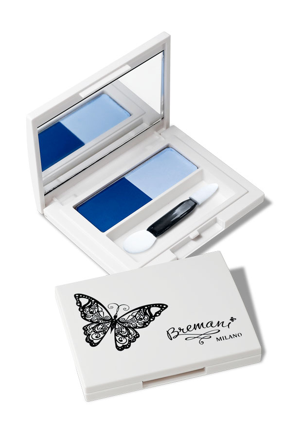 Тени для век Голубика. Eye shadow Blueberry