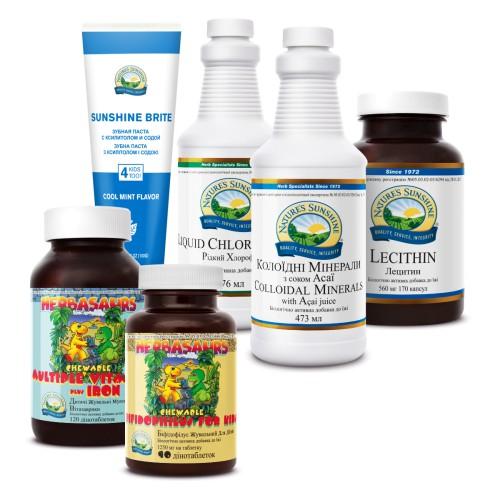 Компания Natures Sunshine предлагает вам готовые решения или НАБОРЫ NSP