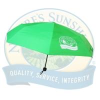 Зонт складной (зеленый)