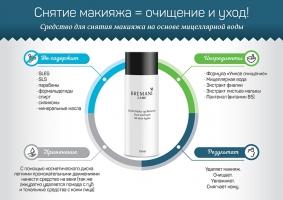 Двухфазное средство для снятия макияжа НСП. Gentle Make-up Remover от NSP