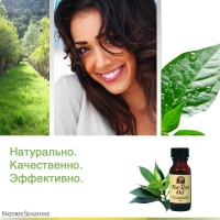 Tea Tree Oil, Маслo чайного дерева, обладает антисептическим, антигрибковым и бактерицидным действием,лечения порезов, ожогов и воспалительных заболеваний кожи