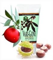 Vari-Gone,Вери-Гон крем,противовоспалительный,болеутоляющее,от спазмов,Укрепляет стенки капилляров и вен,Улучшает отток лимфы, уменьшает отечность